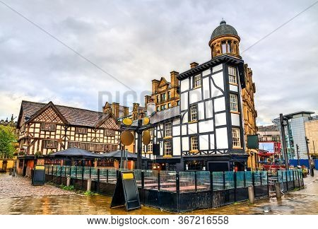 Traditional Half-timbered House In Manchester, North West England