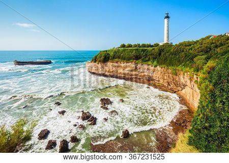 Phare De Biarritz Is A Lighthouse In Biarritz City In France