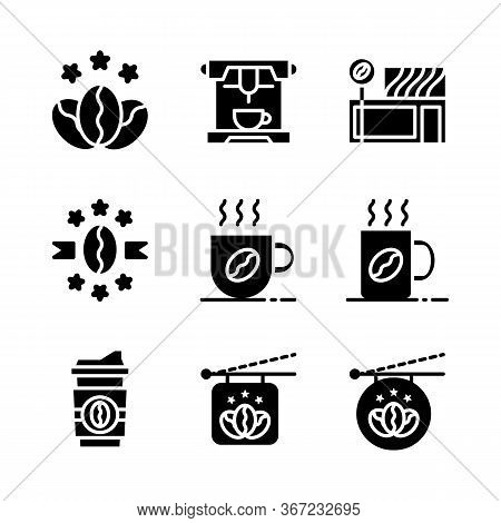 Basic Vector Coffee Icon Include Star Coffee,espresso,coffee Store,premium Coffee,mug And Cup Coffee