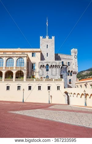 The Prince Palace Of Monaco Is The Official Residence Of The Sovereign Prince Of Monaco