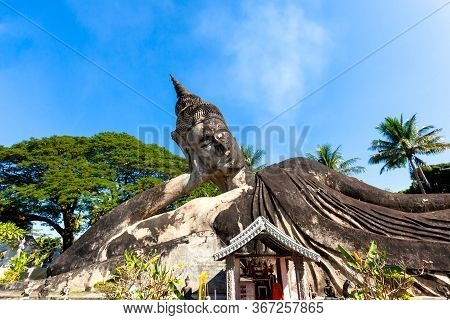 Buddha Park Of Wat Xieng Khuan  Vientiane  Laos