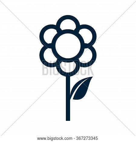 Flower Icon Stock Vector Illustration Flat Design, Vector Illustration Icon Design