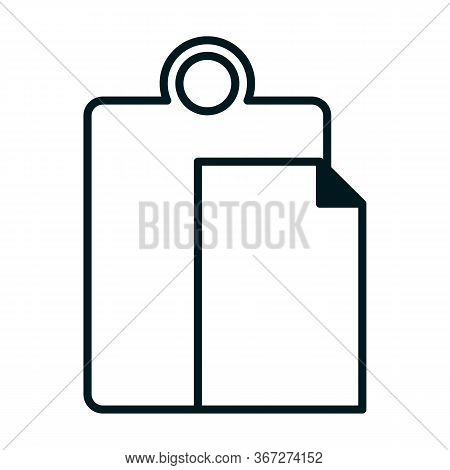 Paste Icon Stock Vector Illustration Flat Design, Vector Illustration Icon Design