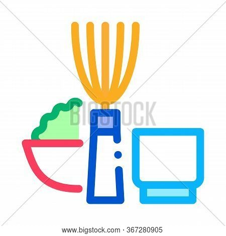 Kitchen Appliances And Devices Icon Vector. Kitchen Appliances And Devices Sign. Color Symbol Illust