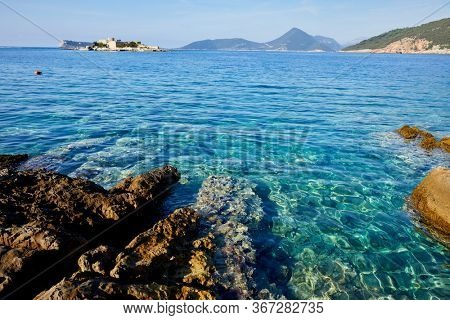 nice sea in the Montenegro