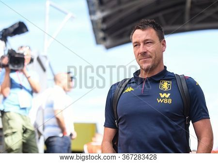 London, England - August 31, 2019: John Terry Of Villa Pictured Ahead Of  The 2019/20 Premier League