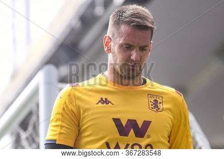 London, England - August 31, 2019: Tom Heaton Of Villa Pictured Ahead Of  The 2019/20 Premier League