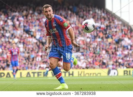 London, England - August 31, 2019: James Mcarthur Of Palace Pictured During The 2019/20 Premier Leag