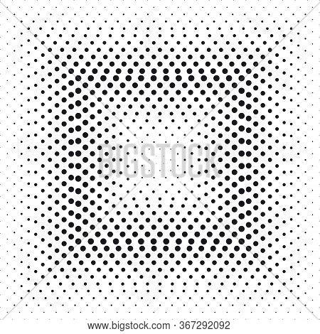 Halftone Effect Square. Vector Illustration Design Element