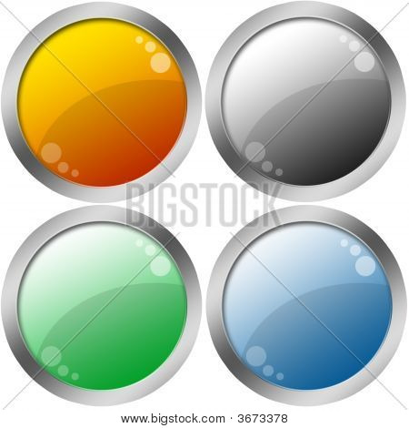 Web Blank Buttons