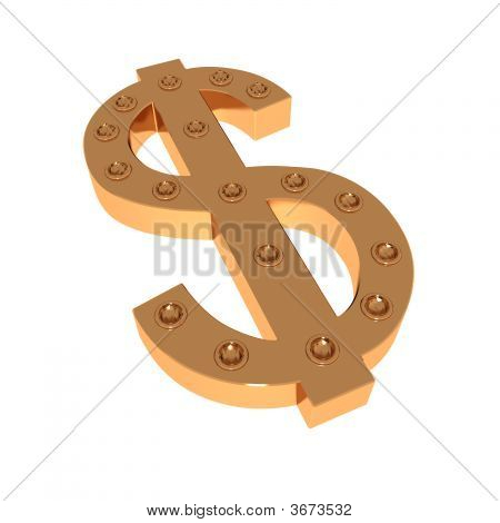 Mark Of Dollar