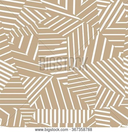 Seamless Abstract Pattern. Modern Fashion Background With Geometric Pattern. Vector Illustration