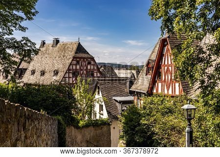 21st May 2020 In Limburg, Germany. A German Photographer Visiting The City, Taking Pictures Of Half-