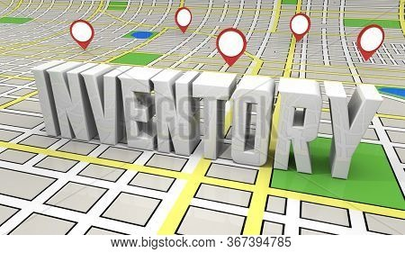 Inventory Real Estate Property Listings For Sale Homes Buildings Supply 3d Illustration