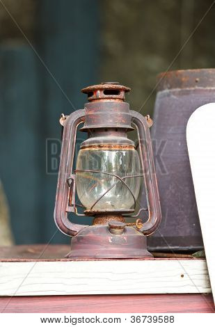 Old Lamp, Hurricane Lamp