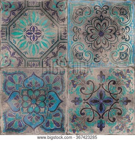 Ceramic Glazed Wall Pattern Tile.