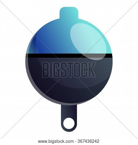 Lure Bobber Icon. Cartoon Of Lure Bobber Vector Icon For Web Design Isolated On White Background