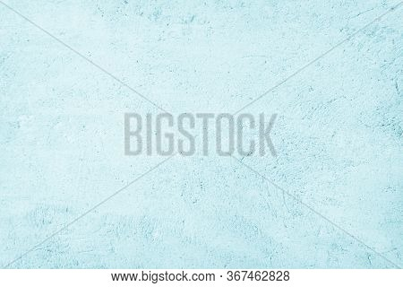 Pastel Blue And White Concrete Stone Texture For Background In S