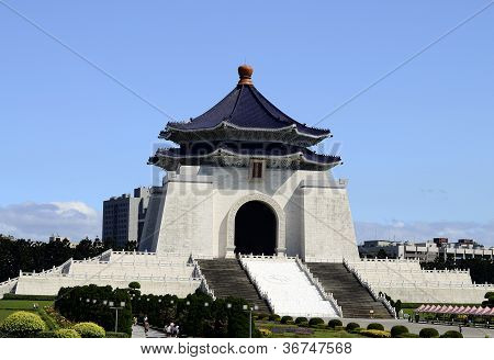 Chinese style building of the Chiang Kai-shek Memorial Hall
