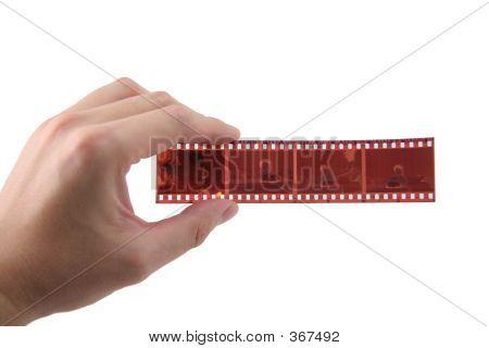 Hand Hold 35mm Film