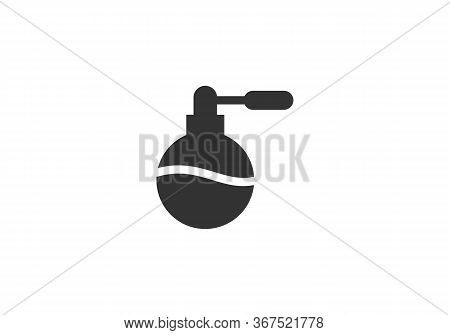 Perfume Icon Isolated On White Background From Barber Shop Collection. Perfume Icon Trendy And Moder