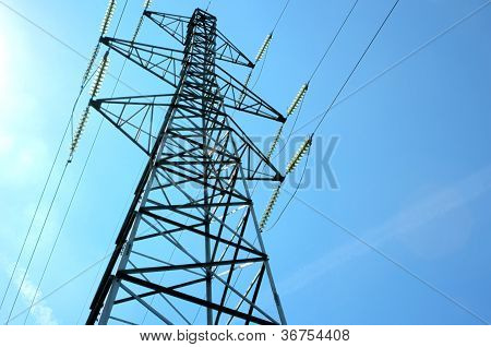 Electricity Power Tower