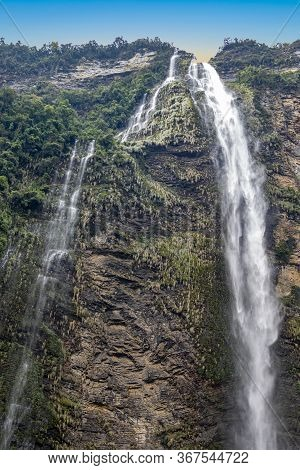 Catarata De Gocta - One Of The Highest Waterfalls In The World, Northern Peru