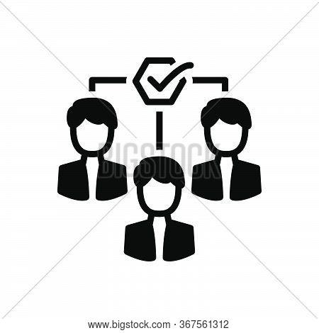 Black Solid Icon For Team-motivation Team Motivation Impellent Encourage Persuasive