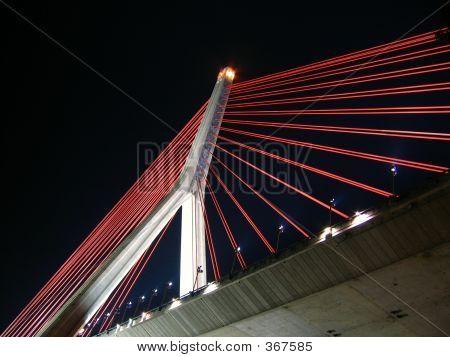 Modern Day Suspension Bridge