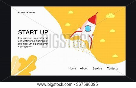 Banner, Business, Cartoon, Concept, Creative, Design, Fire, Flat, Flight, Flying, Graphic, Idea, Ill
