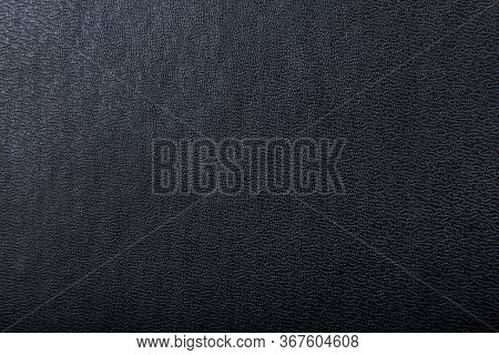 Texture Of A Dark Black Hardcover Book Cover With A Gradient