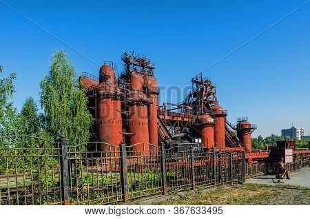 Nizhny Tagil, Russia - August 21, 2016:  Factory-museum Of The History Of Mining Equipment.it Was Op