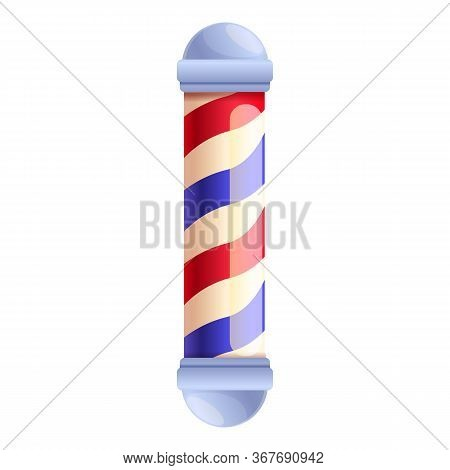 Barbershop Accessory Icon. Cartoon Of Barbershop Accessory Vector Icon For Web Design Isolated On Wh