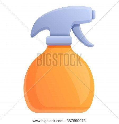 Stylist Bottle Spray Icon. Cartoon Of Stylist Bottle Spray Vector Icon For Web Design Isolated On Wh