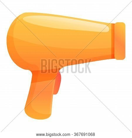 Hair Dryer Icon. Cartoon Of Hair Dryer Vector Icon For Web Design Isolated On White Background