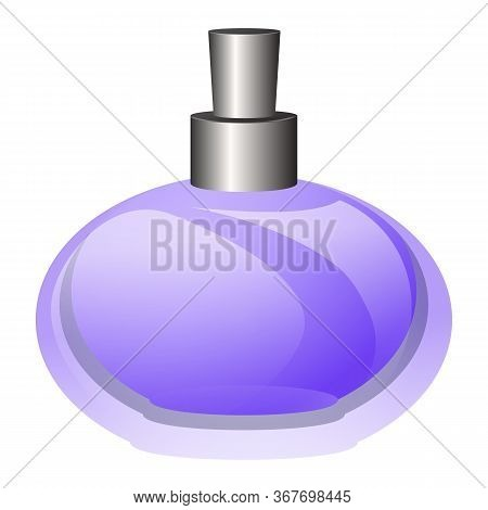 Odor Perfume Icon. Cartoon Of Odor Perfume Vector Icon For Web Design Isolated On White Background
