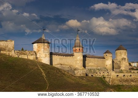Old Castle In The Ancient City Of Kamyanets-podilsky,
