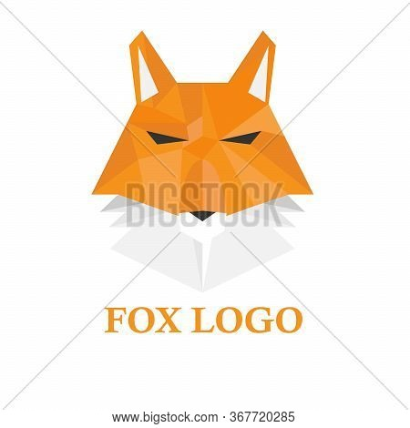 Fox Template Logo Design. Fox Minimalist Logo Design