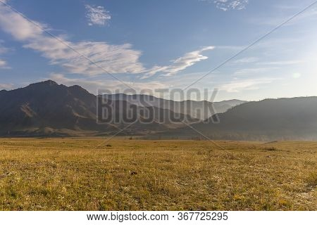 Altai, Altay Mountains, Are A Mountain Range In Central And East Asia, Where Russia, China, Mongolia