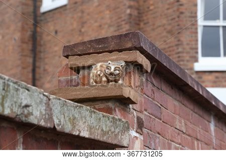Chester, Great Britain - September 14, 2014: This Is A Small Figure Of The Famous Literary Character