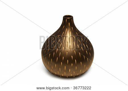 vases modern ceramic isolated