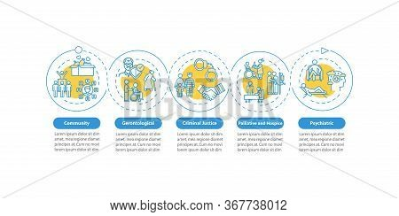 Community Welfare Vector Infographic Template. People In Need Presentation Design Elements. Data Vis