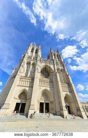 Washington DC - National Cathedral Building
