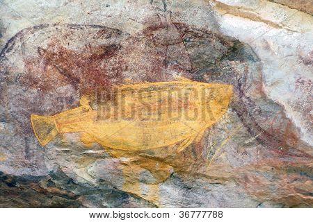 Ubirr Fish Rock Art
