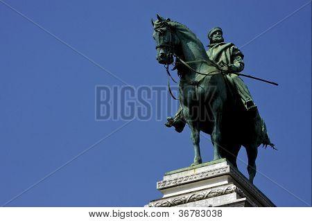 Garibaldi Near The Castle
