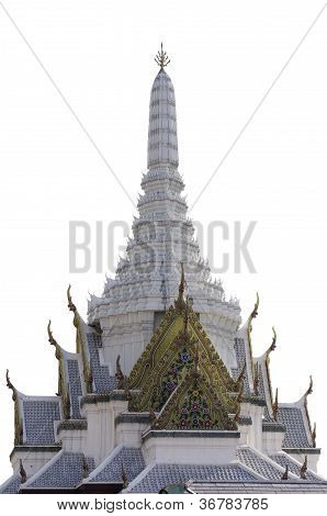 Buddhist Style Chapel in Thailand