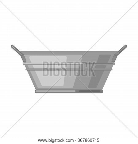 Basin Vector Icon.cartoon Vector Icon Isolated On White Background Basin.