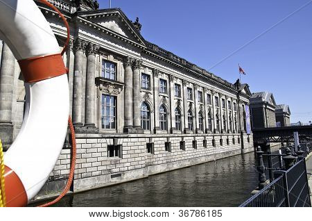 poster of Bode Museum in Berlin Germany Kaiser friedrich