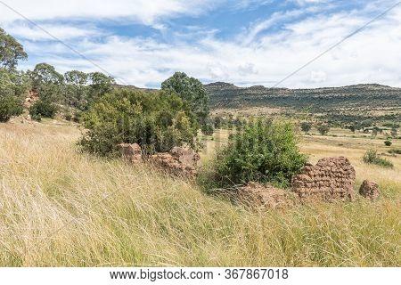 A Ruin On The Eland Hiking Trail At Eingedi Near Ladybrand