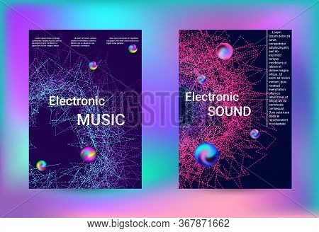 Electronics Music Set Covers. Minimal Vector Coverage. Business Brochure Template. Geometric Print.